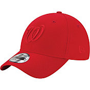 New Era Men's Washington Nationals 39Thirty Diamond Era Tone Tech Red Stretch Fit Hat