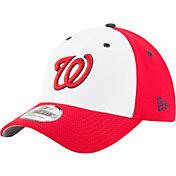 New Era Men's Washington Nationals 39Thirty Diamond Era White Stretch Fit Hat