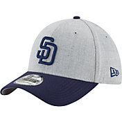 New Era Men's San Diego Padres 39Thirty Change Up Redux Grey Flex Hat