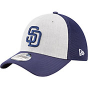 New Era Men's San Diego Padres 39Thirty Heather Grey Neo Flex Hat