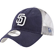 New Era Men's San Diego Padres 9Twenty Rustic Navy Adjustable Hat