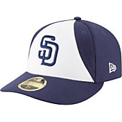 New Era Men's San Diego Padres 59Fifty Diamond Era White/Navy Low Crown Fitted Hat