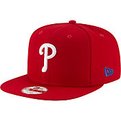 New Era Men's Philadelphia Phillies 9Fifty Red Block Back Adjustable Hat