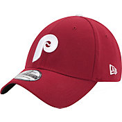 New Era Men's Philadelphia Phillies 39Thirty Cooperstown Classic Maroon Flex Hat
