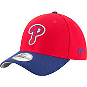 New Era Men's Philadelphia Phillies 39Thirty Diamond Era Red Flex Hat
