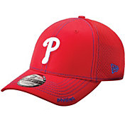 New Era Men's Philadelphia Phillies 39Thirty Neo Red Flex Hat