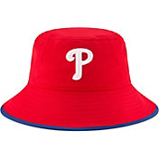 New Era Men's Philadelphia Phillies Red Team Bucket Hat