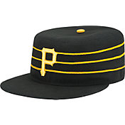 New Era Men's Pittsburgh Pirates 59Fifty Alternate 2 Black Pillbox Fitted Hat