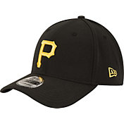 New Era Men's Pittsburgh Pirates 39Thirty Classic Black Stretch Fit Hat