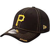New Era Men's Pittsburgh Pirates 39Thirty Neo Black Stretch Fit Hat