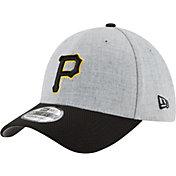 New Era Men's Pittsburgh Pirates 39Thirty Change Up Redux Grey Flex Hat