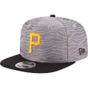 New Era Men's Pittsburgh Pirates 9Fifty Weave Mix Grey Adjustable Hat
