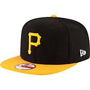 New Era Men's Pittsburgh Pirates 9Fifty Shore Snapper Adjustable Hat