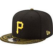 New Era Men's Pittsburgh Pirates 9Fifty Visor Fresh Black Adjustable Hat