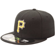 New Era Men's Pittsburgh Pirates 59Fifty Alternate Gold Authentic Hat
