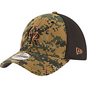 New Era Men's Colorado Rockies 39Thirty 2016 Memorial Day Flex Hat