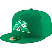 New Era Men's Colorado Rockies 59Fifty St. Patrick's Day Diamond Era Fitted Hat