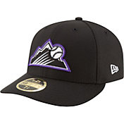 New Era Men's Colorado Rockies 59Fifty Diamond Era Black Low Crown Fitted Hat