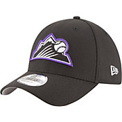 New Era Men's Colorado Rockies 39Thirty Diamond Era Black Flex Hat