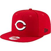New Era Men's Cincinnati Reds 9Fifty Red Block Back Adjustable Hat