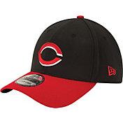 New Era Men's Cincinnati Reds 39Thirty Alternate Classic Black Flex Hat