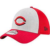New Era Men's Cincinnati Reds 39Thirty Heather Grey Neo Flex Hat