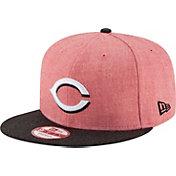 New Era Men's Cincinnati Reds 9Fifty Heather Action Adjustable Hat
