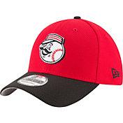 New Era Men's Cincinnati Reds 39Thirty Diamond Era Red Flex Hat