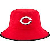 New Era Men's Cincinnati Reds Red Team Bucket Hat
