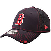 New Era Men's Boston Red Sox 39Thirty Neo Navy Flex Hat