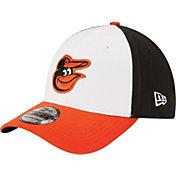 New Era Men's Baltimore Orioles 39Thirty Classic Black Flex Hat