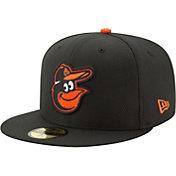 New Era Men's Baltimore Orioles 59Fifty Diamond Era Black Fitted Hat