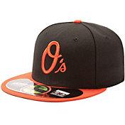 New Era Men's Baltimore Orioles 59Fifty Alternate Black Authentic Hat