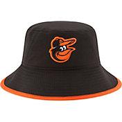 New Era Men's Baltimore Orioles Black Team Bucket Hat