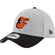 New Era Men's Baltimore Orioles 39Thirty Change Up Redux Grey Flex Hat