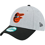 New Era Men's Baltimore Orioles 9Forty Grey Adjustable Hat