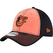 New Era Men's Baltimore Orioles 39Thirty Heathered Neo Flex Hat