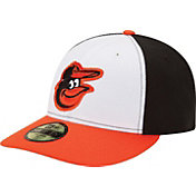 New Era Men's Baltimore Orioles 59Fifty Home Black/White Low Crown Authentic Hat
