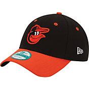 New Era Men's Baltimore Orioles 9Forty League Black Adjustable Hat