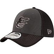 New Era Men's Baltimore Orioles 39Thirty Grey/Black Shadow Reflect Flex Hat