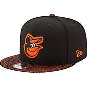 New Era Men's Baltimore Orioles 9Fifty Visor Fresh Black Adjustable Hat
