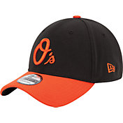 New Era Men's Baltimore Orioles 39Thirty Classic Black Stretch Fit Hat