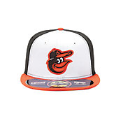 New Era Men's Baltimore Orioles 59Fifty Home White/Black Authentic Hat