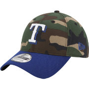 New Era Men's Texas Rangers 39Thirty Camo Flex Hat