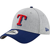 New Era Men's Texas Rangers 39Thirty Change Up Redux Grey Stretch Fit Hat