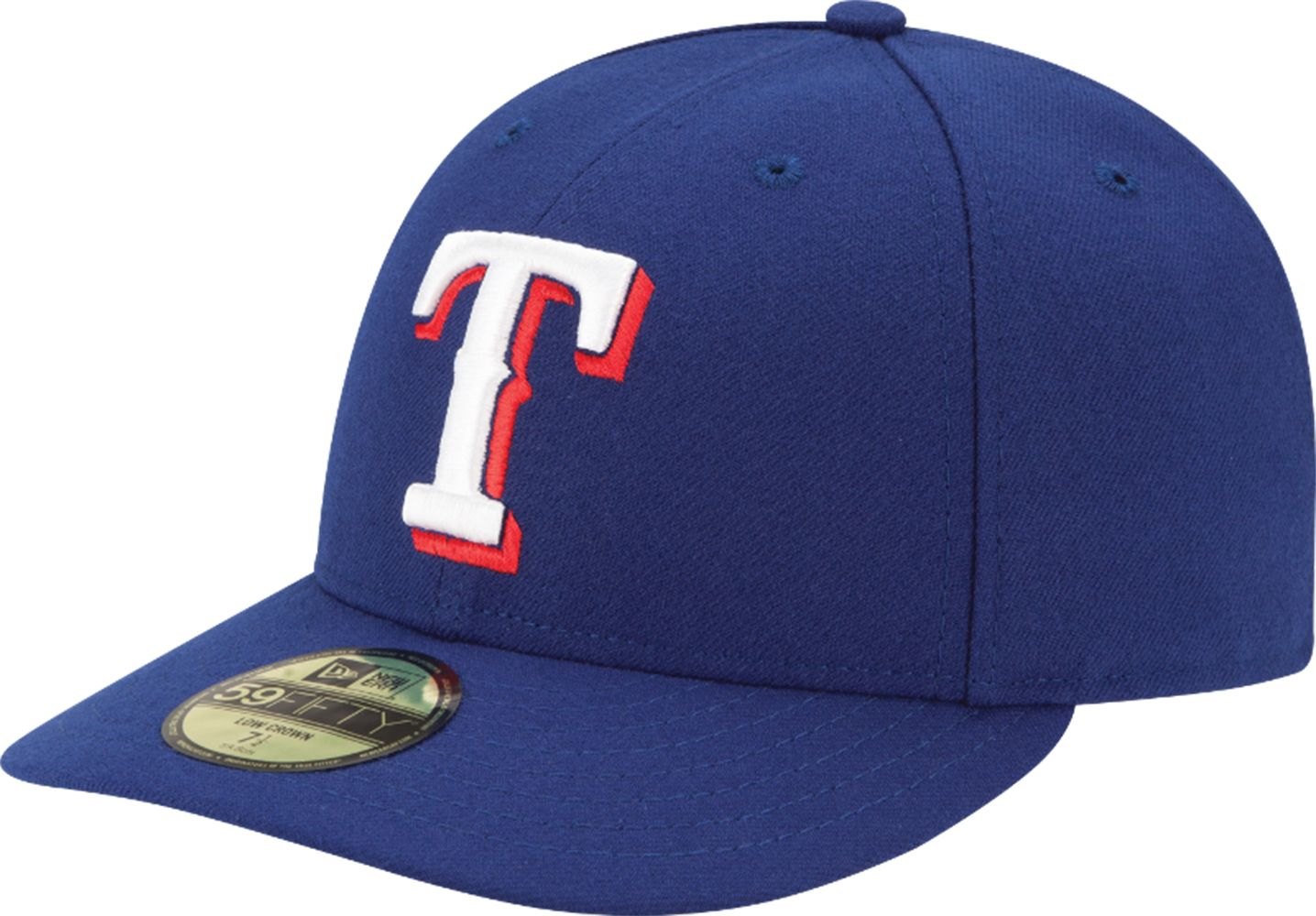 006d4c8a3624b ... new era mens texas rangers 59fifty game royal low crown authentic hat  ...