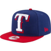 New Era Men's Texas Rangers 9Fifty Grand Logo Adjustable Hat