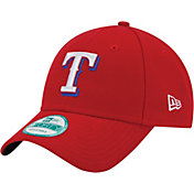 New Era Men's Texas Rangers 9Forty Red Adjustable Hat