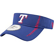 New Era Men's Texas Rangers Royal Adjustable Speed Visor