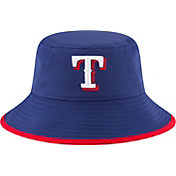 New Era Men's Texas Rangers Royal Team Bucket Hat